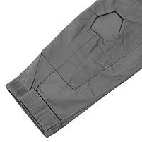 Тактическая рубашка Lesko A655 Gray XL кофта с длинным рукавом камуфляжная армейская, фото 3