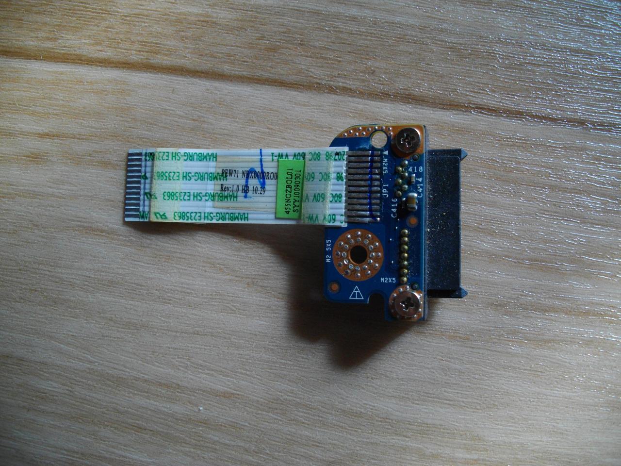 Шлейф перехідник DVD, CD, оптичного приводу, Acer Aspire 5552, eMachines E442, E642 (LS-6583P) бо