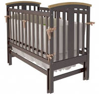 Кроватка Woodman Mia, цвет шоколад