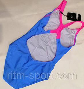 Купальник для плавання дитячий спортивний зростання від 116 до 164 см, фото 2
