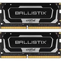 Память Crucial Ballistix SODIMM DDR4 16GB KIT PC4-25600 (3200Mhz), 1.35V, (2x8GB)(BL2K8G32C16S4B)