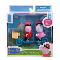 """Набор """"Свинка Peppa и Сьюзи на велосипеде"""" , фото 1"""