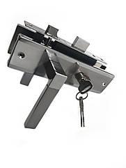 Врезной замок с ручками для деревянных дверей Kozak A-9 SN/CP