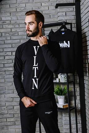 Спортивный костюм мужской осень весна (VLTN) S, M, L, XL ХХL., фото 2