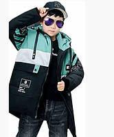 Классная, теплая детская курточка в размерах 134-152