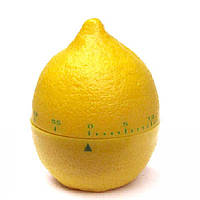Кухонний таймер механічний Lemon / Кухонный таймер механический Лимон, фото 1