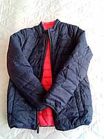 Куртка детская демисезонная двусторонняя 6-8 лет