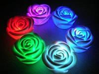 Міні-світильник хамелеон Роза / Мини светильник хамелеон Роза, минисветильник, фото 1