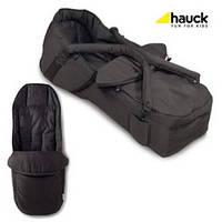 Люлька переноска для новорожденного Hauck, цвет черная