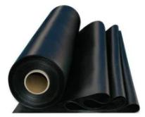 Пленка полиэтиленовая черная 80 мкм. рукав 1,5м. длина 100 м.