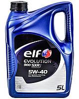 Моторное масло Elf EVOLUTION 900 SXR 5w40 5л/4,24кг НОВАЯ КАНИСТРА!!!!!!