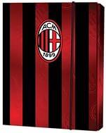 Папка для тетрадей на резинке картонная В5 AC Milan