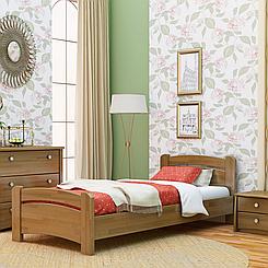 Ліжко дерев'яне односпальне Венеція (бук)