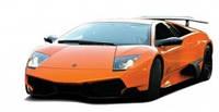 Машинка микро р/у лицензионная ShenQiWei - Lamborghini LP670, 1:43, оранжевый