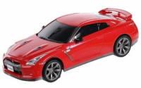 Машинка микро р/у лицензионная ShenQiWei - Nissan GT-R, 1:43, красный