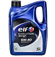 Моторное масло Elf EVOLUTION 900 NF 5w40 5л/4,26кг НОВАЯ КАНИСТРА!!!