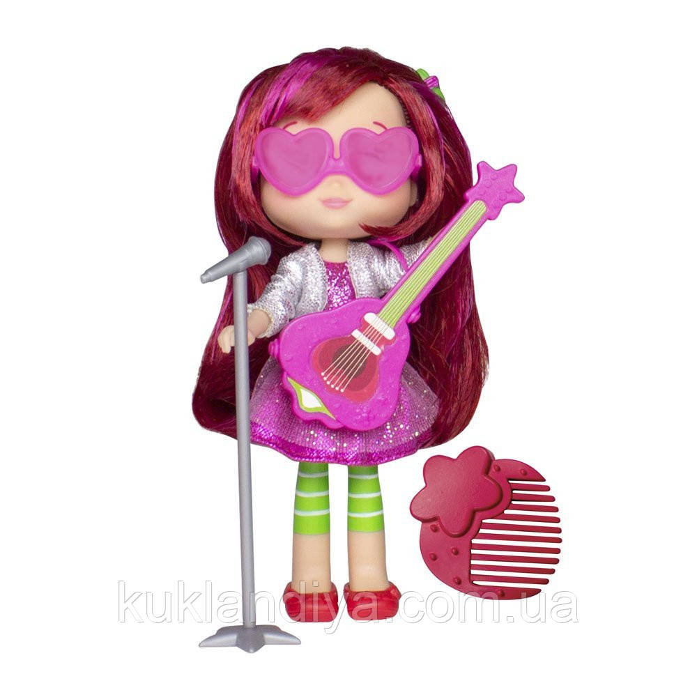 Кукла Шарлотта Земляничка Strawberry Shortcake, Berry Best Friend с музыкальным инструментом