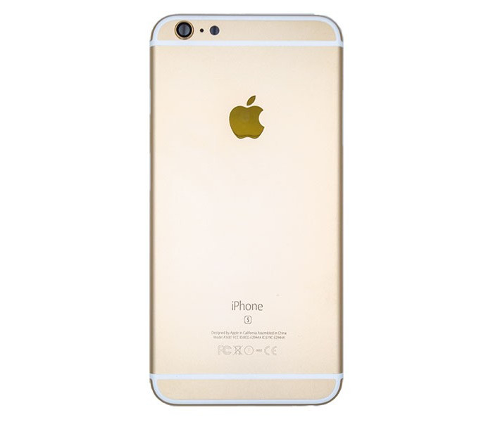 Задня кришка (корпус) для iPhone 6s Gold