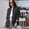 Женский пиджак из костюмной ткани на пуговицах с карманами 42-46 р, фото 4