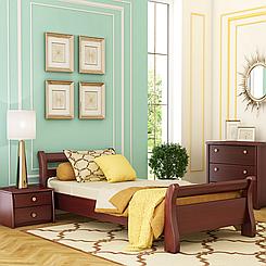 Кровать деревянная односпальная Диана (бук)
