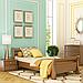 Кровать деревянная односпальная Диана (бук), фото 2