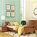 Кровать деревянная односпальная Диана (бук), фото 6