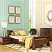 Кровать деревянная односпальная Диана (бук), фото 3