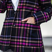 Женский пиджак из костюмной ткани на пуговицах с карманами 42-46 р, фото 2