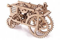 """Механические 3Д пазлы Ukrainian Gears - модель """"Трактор"""""""