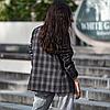 Женский пиджак из костюмной ткани на пуговицах с карманами 42-46 р, фото 5