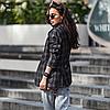 Женский пиджак из костюмной ткани на пуговицах с карманами 42-46 р, фото 6