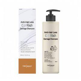 Питательный шампунь для поврежденных волос Trimay Anti-Hair Loss Oil Rich Damage Shampoo, 300ml