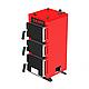 Твердотопливный котел на угле Kraft серия К 24 кВт с ручным управлением и чугунные колосники, фото 2
