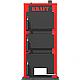 Твердотопливный котел на угле Kraft серия К 24 кВт с ручным управлением и чугунные колосники, фото 3