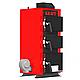 Твердотопливный котел на угле Kraft серия К 24 кВт с ручным управлением и чугунные колосники, фото 5