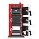 Твердотопливный котел на угле Kraft серия К 24 кВт с ручным управлением и чугунные колосники, фото 6