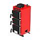 Твердотопливный котел на угле Kraft серия К 24 кВт с ручным управлением и чугунные колосники, фото 7