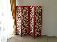 Мебель для салона красоты, ширма из дерева и ткани