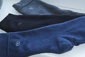 Носки мужские теплые  р 25 , (Мисюренко), разные цвета
