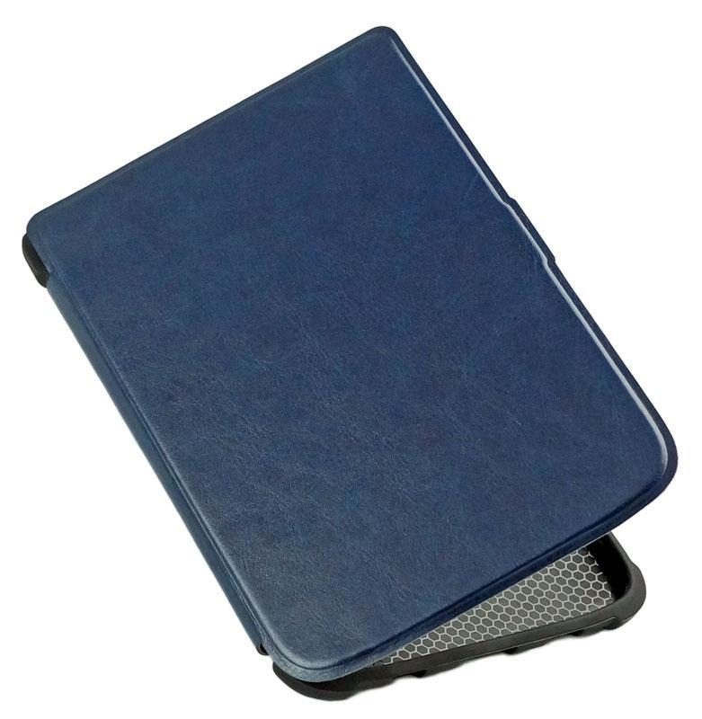 Чехол для PocketBook 616 Basic Lux 2 синий – обложка Покетбук