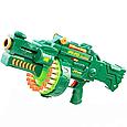 Детский автомат игрушечный пулемет Бластер Limo Toy 7001 с мягкими пулями на батарейках, фото 2