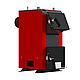 Бюджетный универсальный котел Kraft А 12 кВт из котловой стали работающий на любом твердом топливе, фото 6