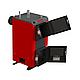Бюджетный универсальный котел Kraft А 12 кВт из котловой стали работающий на любом твердом топливе, фото 4