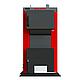 Бюджетный универсальный котел Kraft А 12 кВт из котловой стали работающий на любом твердом топливе, фото 2