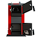 Бюджетный универсальный котел Kraft А 12 кВт из котловой стали работающий на любом твердом топливе, фото 7