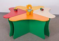 """Детский столик """"Цветок"""" (4 сегмента)"""