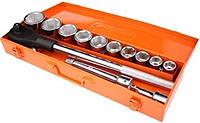 Набор головок с трещоткой 14 эл для тяжелых работ 3/4' 6 граней 22-50 мм Richmann C1702