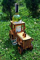 Мини бар Трактор с рюмками FL221-5