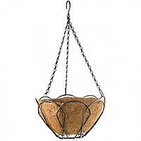 Підвісне кашпо з кокосовою корзиною, 25 см, PALISAD (MIRI690018)