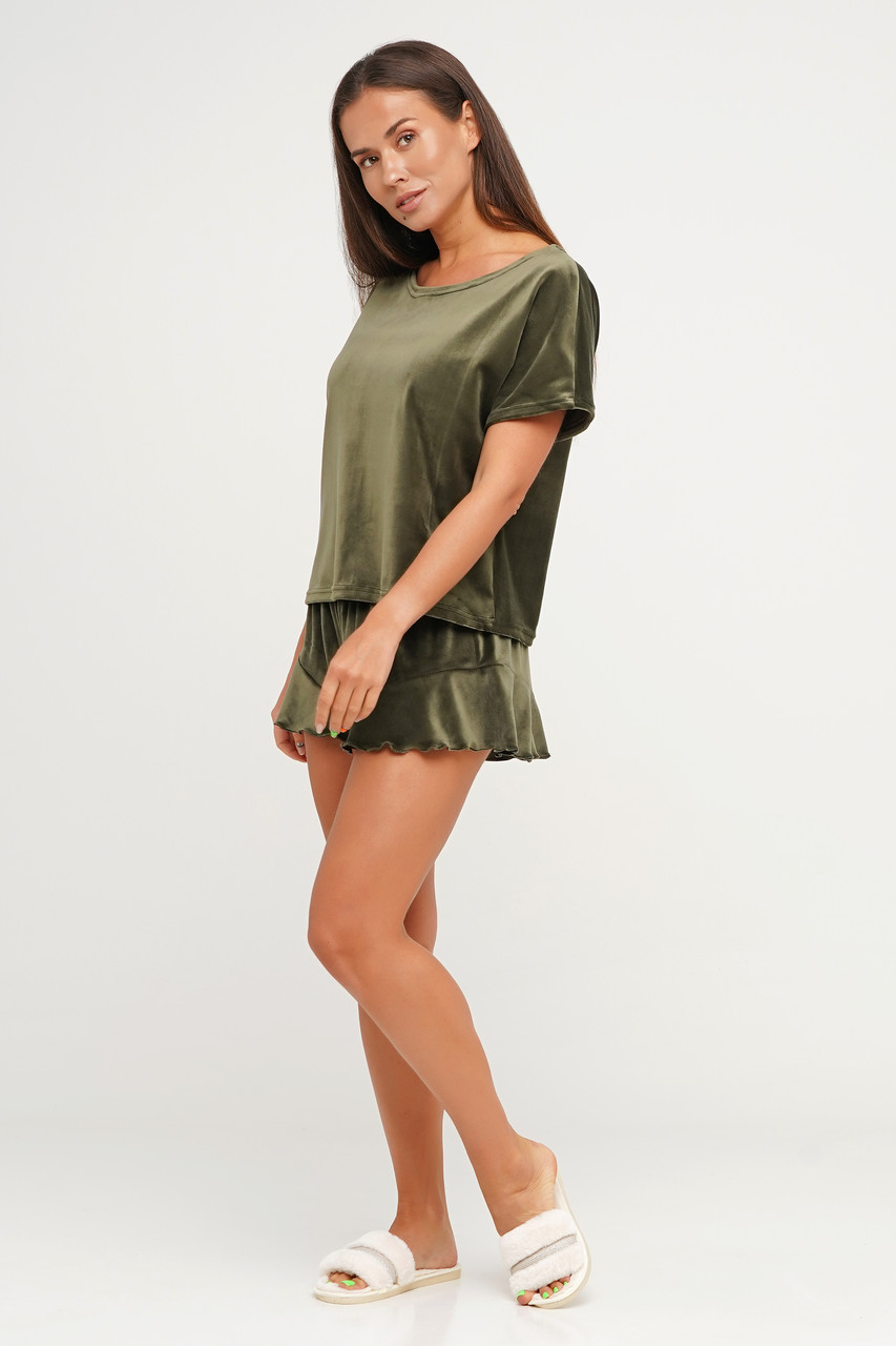Молодежная пижама шортики и футболка TM Orli